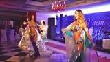 Время зажигать! Нереально красивое выступление со светодиодами крыльями восток шоу LINDA SHOW