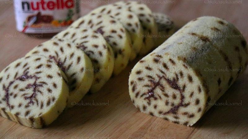 Cheetah Roll Cake Chocolate Black Forest Suka Suka Amel