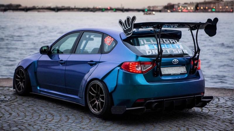 Frantic Subaru