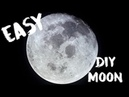 How to Paint a Realistic Moon Oil Painting Hoodie Skit