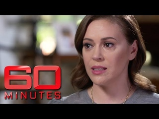 Alyssa Milano says Donald Trump had to be elected for #MeToo to take place | 60 Minutes Australia