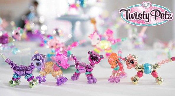 Twisty Petz — это восхитительно милые животные, новые предметы коллекционирования, которые легко превращаются в гламурный браслет простым поворотом. Их можно носить как браслеты, ожерелья и даже закрепить на рюкзаке.