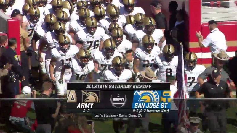 NCAAF 2018 Week 07 Army Black Knights - San Jose State Spartans EN
