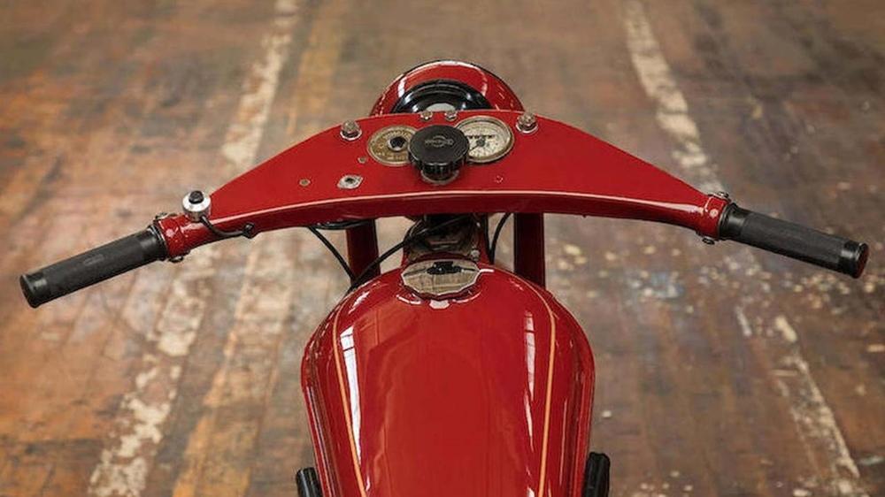 Мотоцикл Nimbus Type C Стива Маккуина