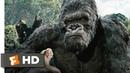 King Kong (3/10) Movie CLIP - Kong Battles the V-Rexes (2005) HD