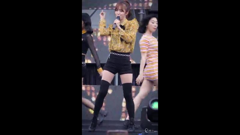 [Fancam] 180715 ALiKE (Ga Hyeon) @ 올투게더아시아 홍보대사위촉식서포터즈발대식 이대 대현공원