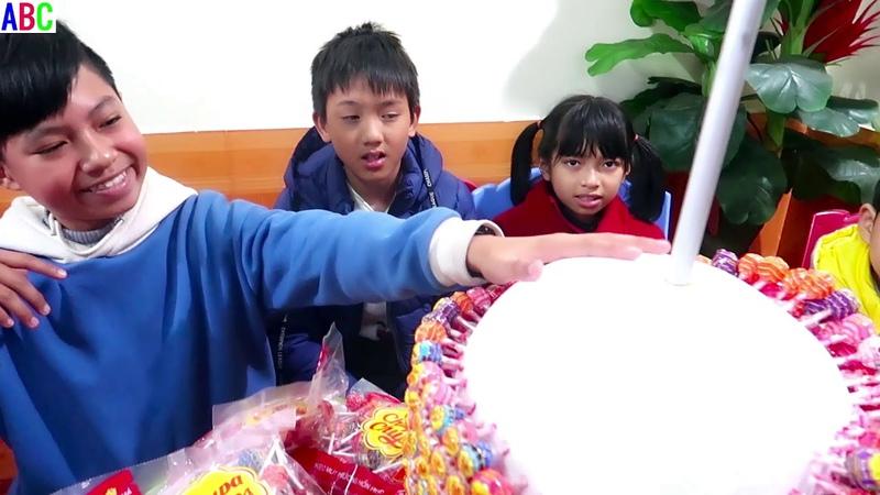 Trò chơi làm kẹo mút khổng lồ ❤ ABC ❤