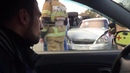 ДТП с перевертышем в Самаре на перекрестке улиц Свободы и XXll партсъезда