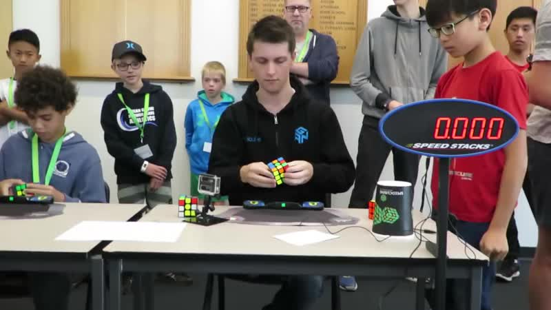 Rubik's Cube World Record 4 22