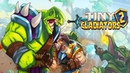 Tiny Gladiators 2 Fighting Tournament android game first look gameplay español