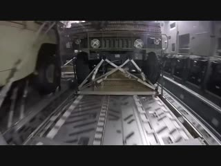 This Is The View From a Humvee Being Dropped From a Military Plane...