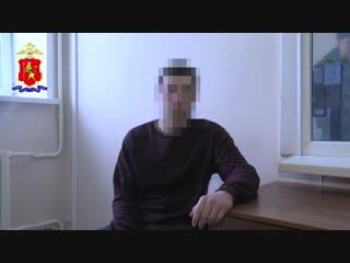 Опрос задержанного водителя Skoda Rapid