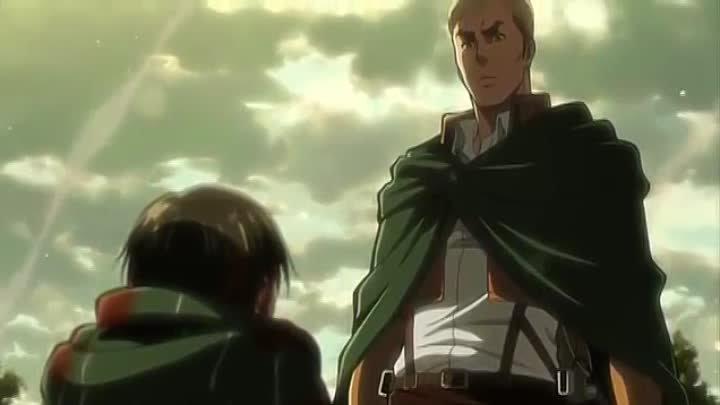 Атака титанов OVA 5 (история леви) часть 2