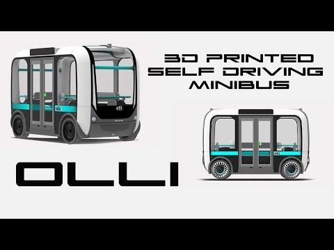 Olli The 3D Printed Self Driving Minibus - BTF
