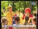 Лето в парке юные чебоксарцы весело и с пользой проводят каникулы