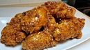 Korean Fried Chicken Recipe | Honey Soy Garlic Glazed Chicken Wings | Korean Chicken Fry Mix Recipe
