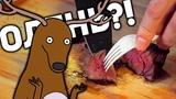 Славный обзор. Ресторан ОЛЕНЬ. Это куски раздербаненного оленя!!!