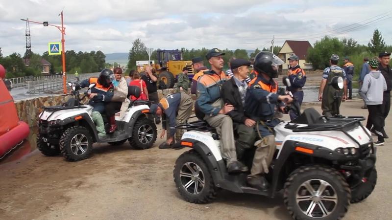 Аварийные службы Забайкалья приступили к восстановительным работам после паводка