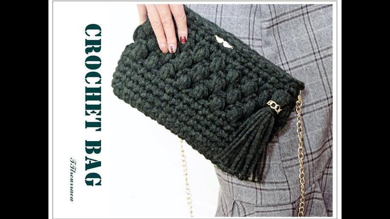 (코바늘 가방)초보자도 뜨는 하루 뚝딱 클러치 뜨기/How to a crochet bag