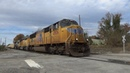 NS 056 Loaded Military Train w/ 2 UP units head eastbound through Columbia, SC
