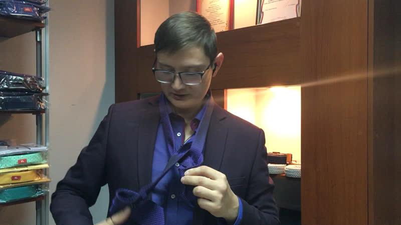 DK Как завязывать галстук