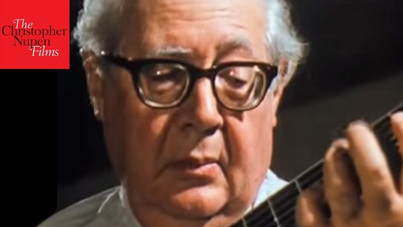 Andrés Segovia: J.S. Bach - Gavotte (Excerpt)