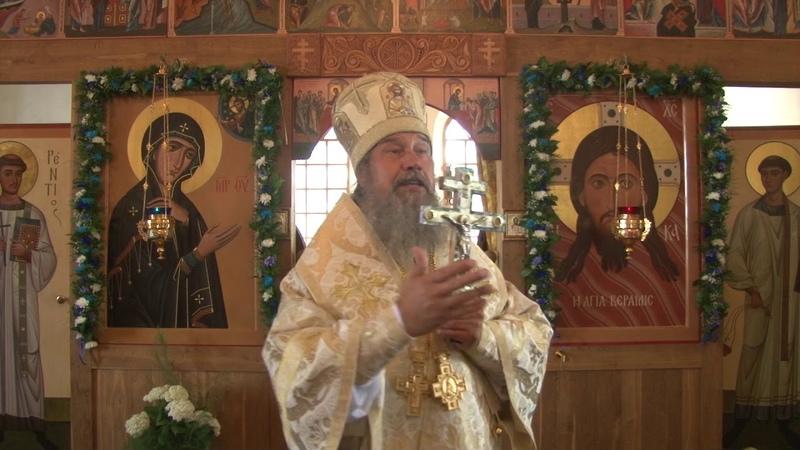 Слово епископа Максима в село Соловые
