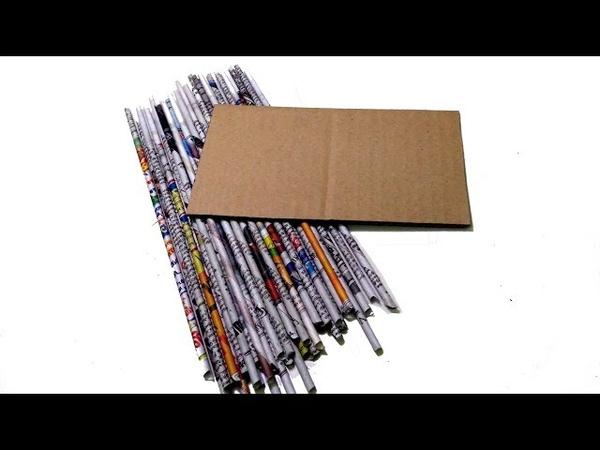 Best out of waste | Newspaper reuse idea | Newspaper Basket | Al type videyos