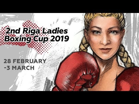 2nd Riga Ladies Boxing Cup 03.03.2019 Finals and awards