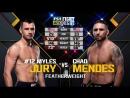 Myles Jury vs. Chad Mendes