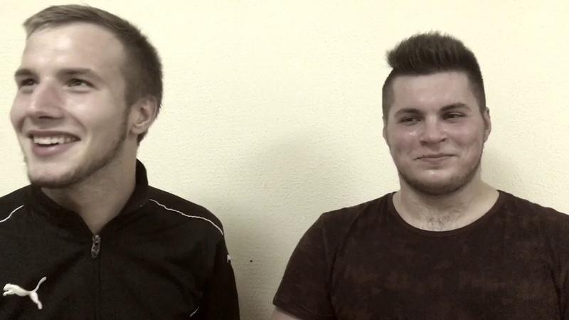 3 тур Интервью с игроками команды Young Legends