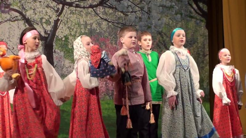Фольклорный коллектив «ЗАБАВА» Песня-сказка Курочка ряба