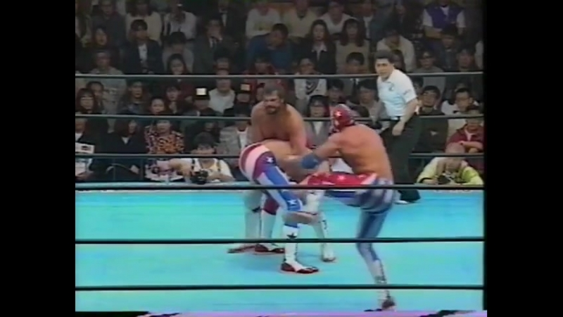 1993.05.14 - Steve Williams/Terry Gordy vs. The Eagle/The Patriot [JIP]