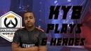 Kyb plays 6 heroes vs. Canada on Volskaya Overwatch World Cup 2018