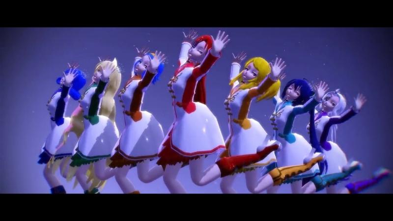 (MMD) Fairy Tail- Galaxias! (Model DL).mp4