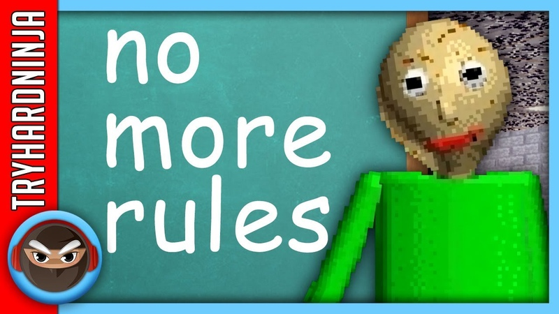 BALDI'S BASICS SONG No More Rules by TryHardNinja