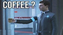Connor Serves Gavin Coffee Detroit Become Human