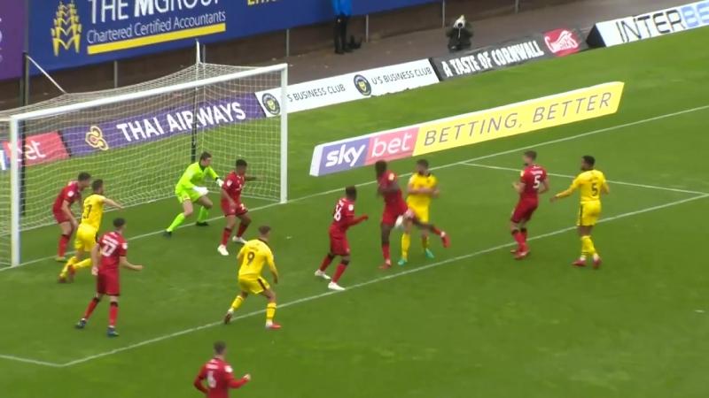 Лига 1 Оксфорд 1 2 Уолсолл 9 й тур