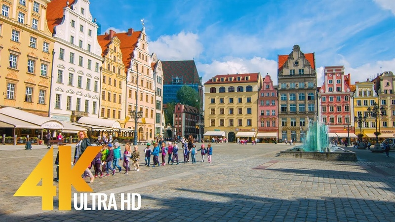 4K Wroclaw, Poland - Cities of the World | Urban Life Documentary Film