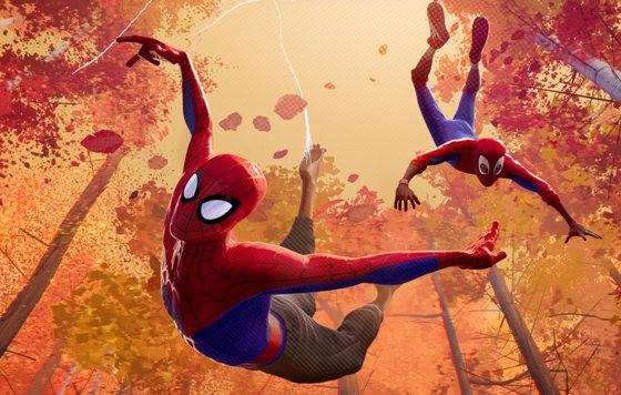 Видео к мультфильму Человек паук Через вселенные 2018 Трейлер №2 дублированный