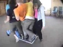 All Aboard -- Duct Tape Teambuilding Game