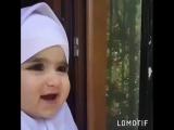 Малышка в хиджабе