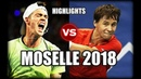Ricardas Berankis vs Maximilian Marterer MOSELLE 2018 Highlights