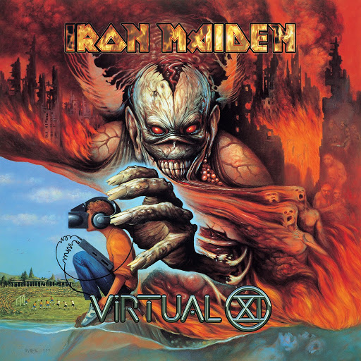 Iron Maiden альбом Virtual XI (2015 Remaster)