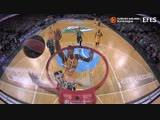 Jordan Mickey Block of the Round vs. Zalgiris