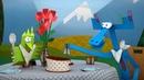 Бумажки -Сборник серий 61 -66 - мультфильм про оригами для детей