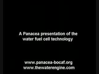 A Panacea presentation of the water fuel cell technology (на русском)