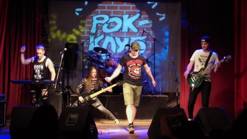 Blackrain 11 08 2018 в Клинском рок клубе