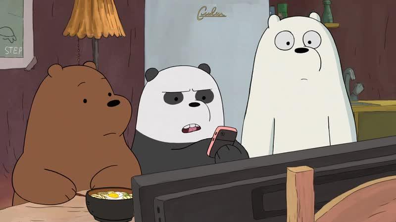 Вся правда о медведях 3 сезон 23 серия / We Bare Bears 3/23 / Мы обычные медведи 3х23 / Холодные ночи белого часть 2 /Icy nights