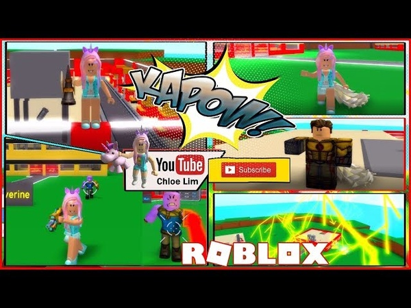 Roblox 2 Player Superhero Tycoon! 😍HUGE UPDATE I am THE FLASH with a BAD COUGH!